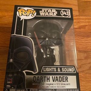 Funko pop Darth Vader lights and sounds